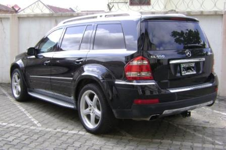 2009 mercedes benz gl550 4matic suv slightly used in for Mercedes benz suv 2008 for sale