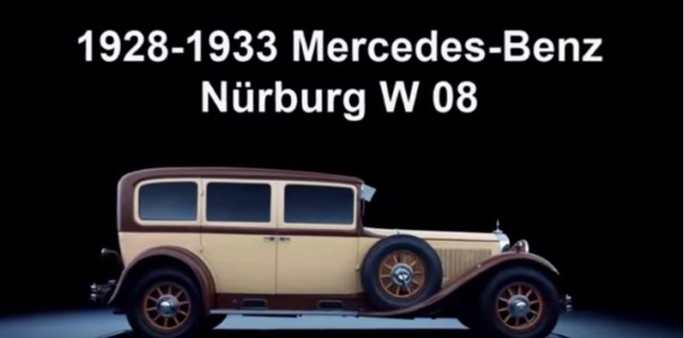 The Evolution Of Mercedes Benz S-class Flagship (photos)