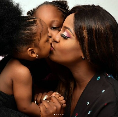 Image result for Timaya's Baby Mama Releases Adorable Photos Of Their 2nd Daughter As She Turns 2