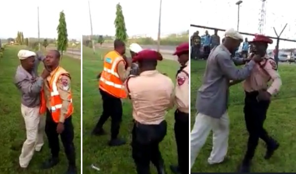 {filename}-Commercial Bus Driver Assaults 2 Federal Road Safety Officials (video)