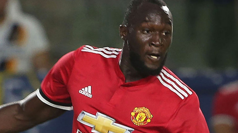 Lukaku Scores His First Goal For Manchester United