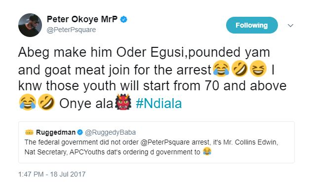 [Ent] Peter Okoye of P-Square reacts to calls for his arrest by APC group (PHOTOS) 5674172 peterokoye jpeg3d5d358b6b5504774775474f84f2fcc3