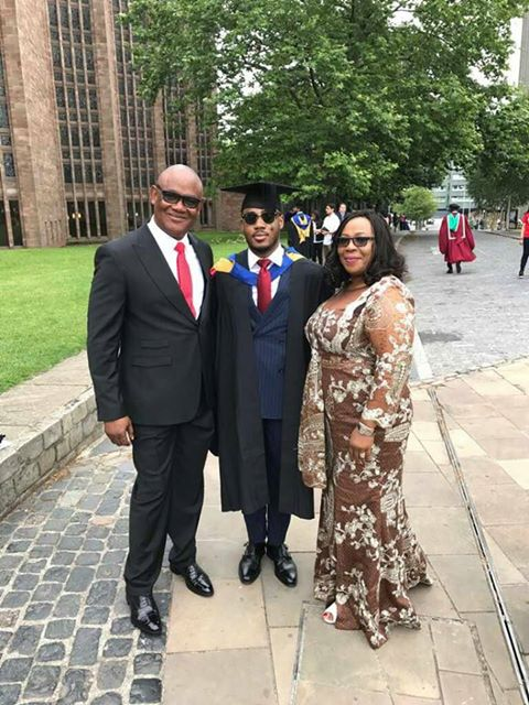 Bright Ephraim Inyang Graduates With First Class From Coventry University UK