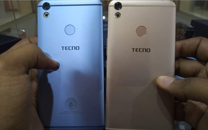 First In 200 Nigerians To Own The Camon CX Manchester City Limited