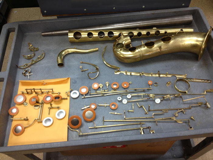 Scintillating Brass Repairs (saxophone,trumpet Etc) Come In