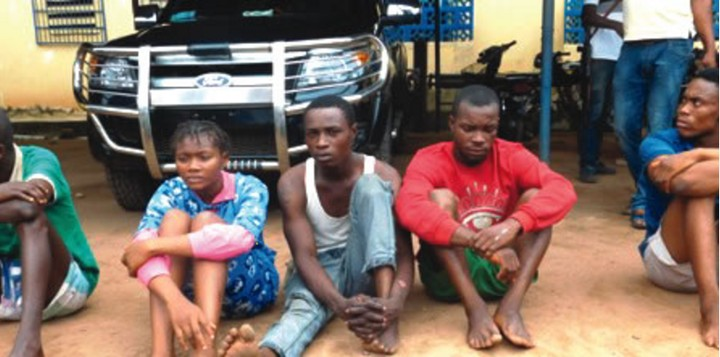 Police Catches 19-year-old Girl, Driver In Imo State For Kidnapping And Robbery