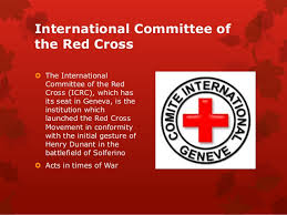 International Committee Of The Red Cross (ICRC) Fresh
