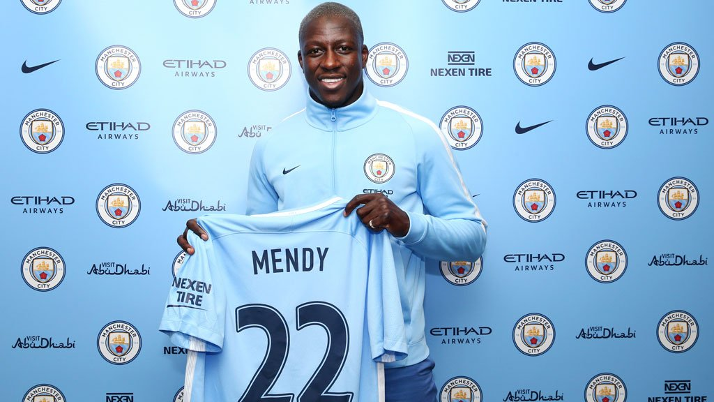 Manchester City Signs Monaco Benjamin Mendy In Deal Worth Over £50m