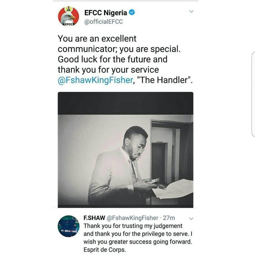 PHOTO: The Man Behind Funny EFCC Tweets And Replies