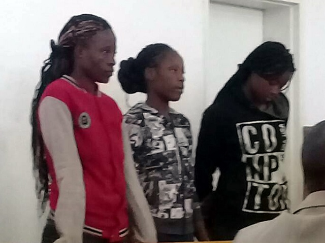 See Faces Of 3 Zimbabwean Women Who Gang-Raped A Pastor (Photo)