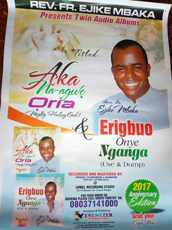 Father Mbaka Celebrates 22nd Priestly Anniversary (Photos)