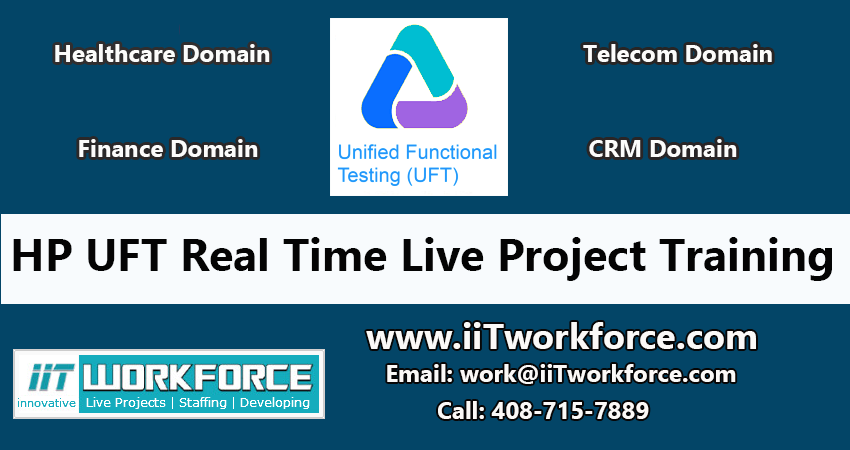HP UFT Real-time Project Workshop Experience By Iit