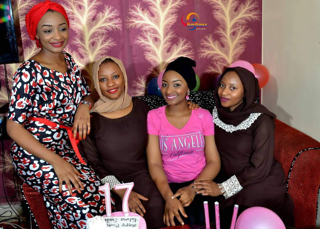 Image result for Rahama Sadau and her sisters