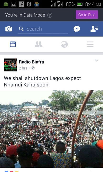 Biafra: Nnamdi Kanu To Storm Lagos Soon For Rally (Photo)