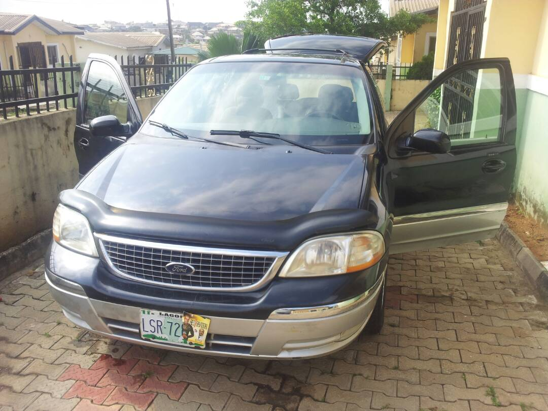 Ford Windstar 2002600k Autos Nigeria Air Conditioning Systems Very Clean Wind Star Good Automatic Gear System Interior First Bodygood Sound Systembuy And Driveowner
