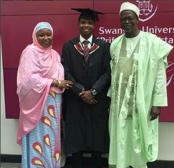 Like Father, Like Son; Nigerian Man Graduates With Top of the line From UK