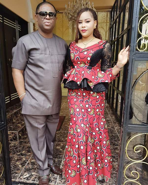Check Out Adorable Photos Of Femi Fani-Kayode & His Pretty Wife Stepping Out For Church Today