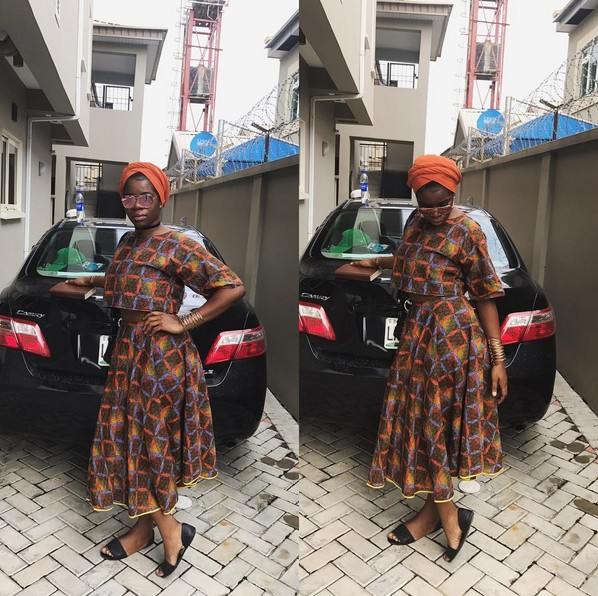 Check Out Wizkid's Baby Mama, Sola Ogudugu's Look To Church That Has Got People Talking (Photos)