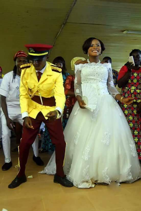 LASTMA Official Moving Gladly With His Significant other At Their Wedding (Photographs)