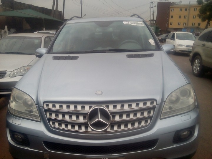 mercedes benz ml500 modelo 2006