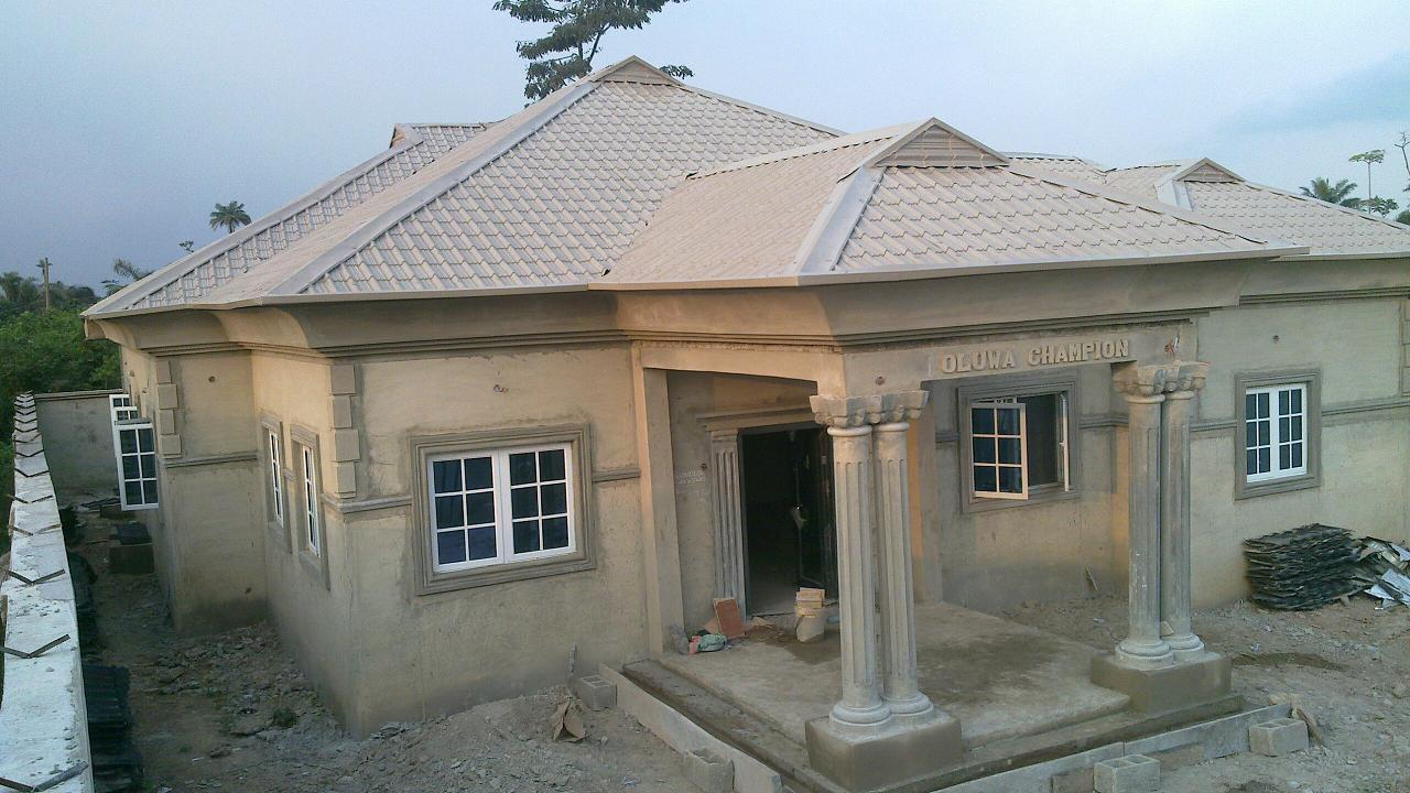 the finishing of my house oluwa champion properties