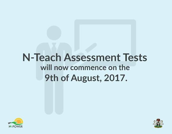 N-Power Teach Assessment Test Shifted To August 9