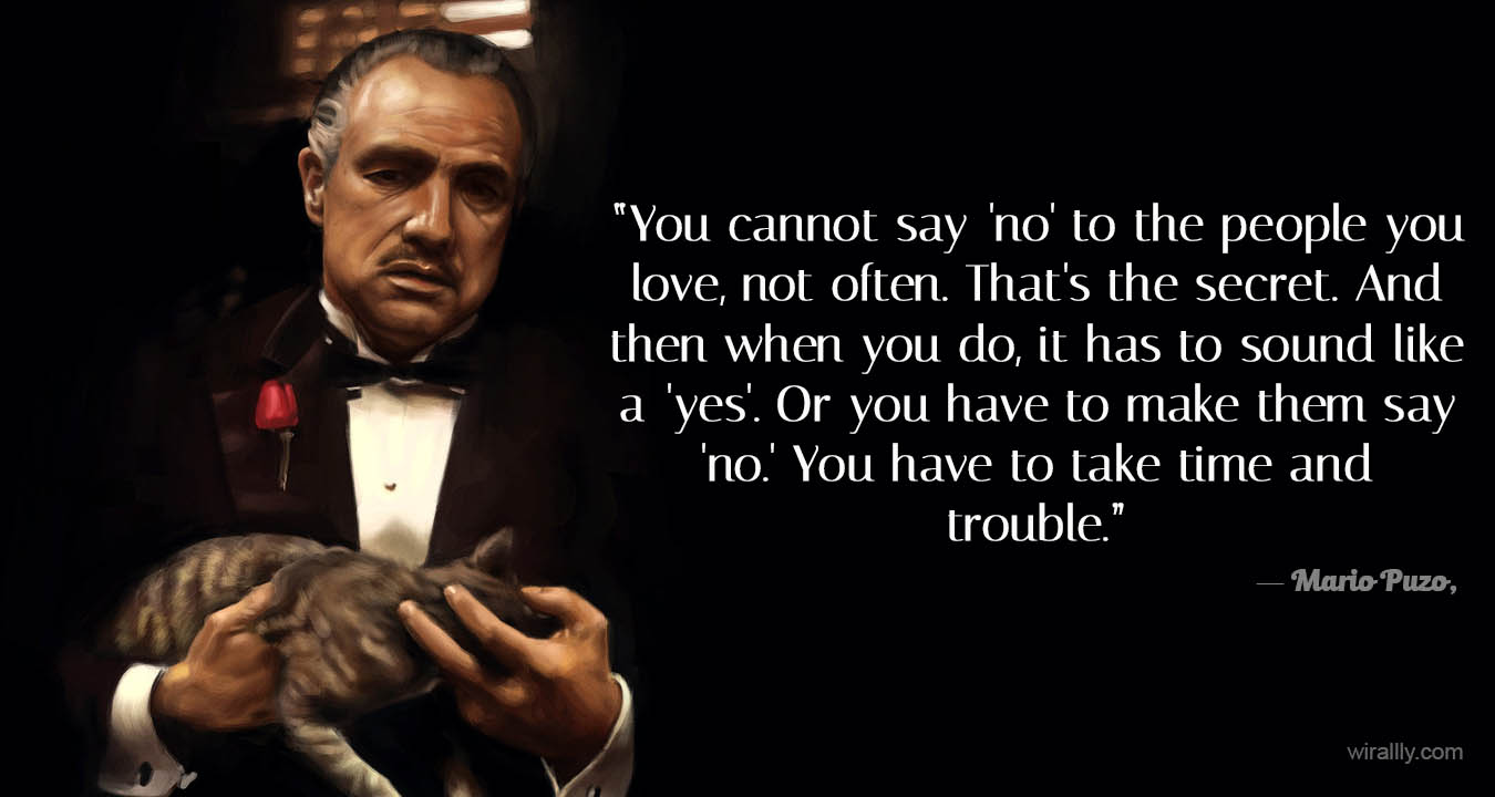Famous Quotes From Godfather Movies