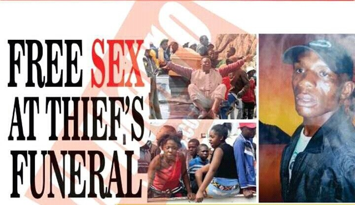 Zimbabwean Prostitutes Offer Free Sex To Mourners At Thief ...