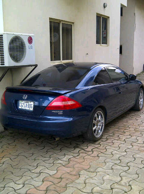 2005 Honda Accord Coupe Custom Built Full Option 1 6m
