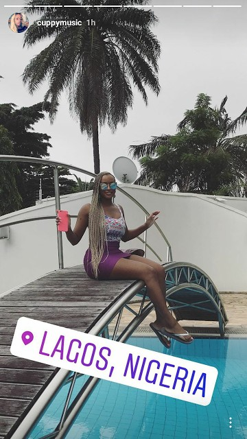 DJ Cuppy Shows Off Her Father's Ikoyi Mansion