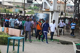 Pastor Adeboye At 75, Walks 7KM With Pastors Before The Kick Off Of Convention (Pics)