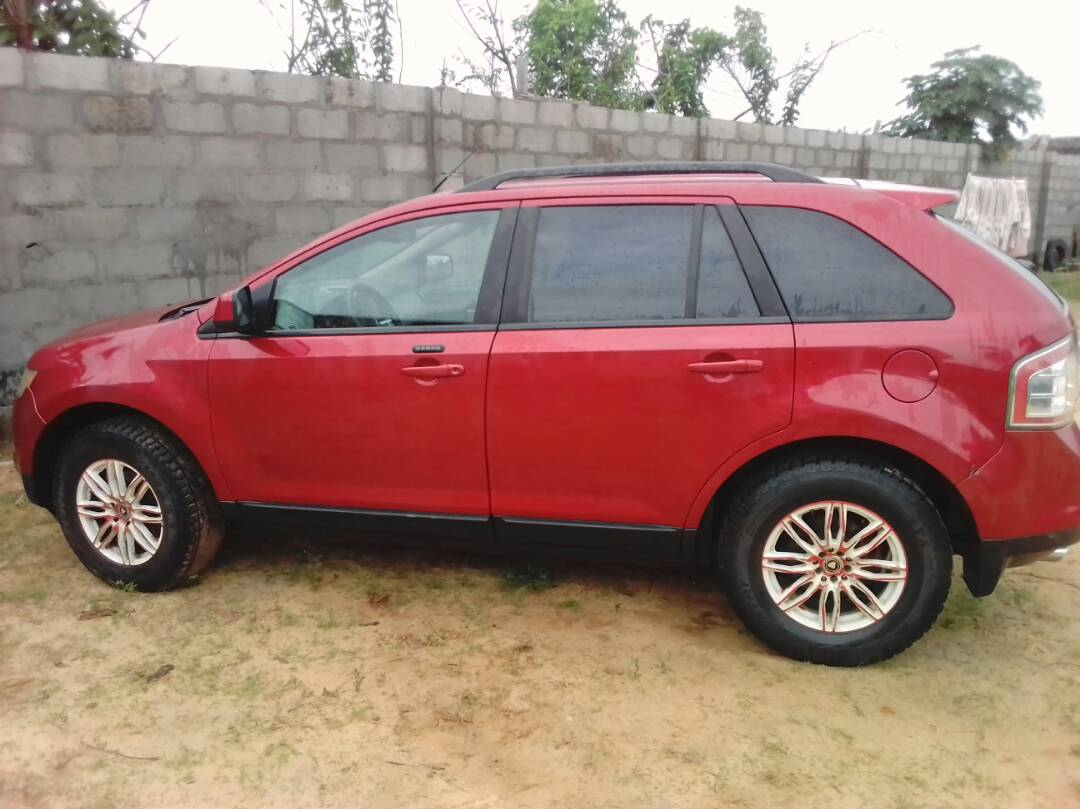 Excellent Reg Tokunbo 2007 Ford Edge Sel Plus 6cd For 2 5 M 123 000 Km Autos Nigeria