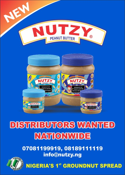 Distributors Wanted Nationwide - Nutzy Peanut Butter