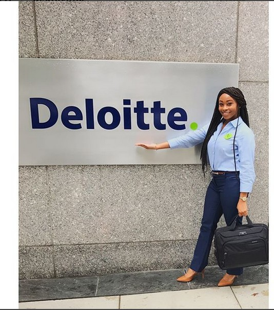 Don't ever take NO an answer - Nigerian slay queen shares inspiring story after getting a job