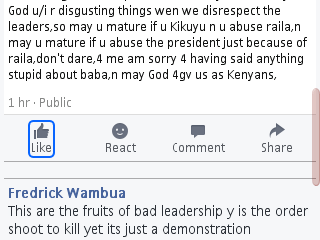 Kenyan We Are So Stupid-facebook User Blast His Country