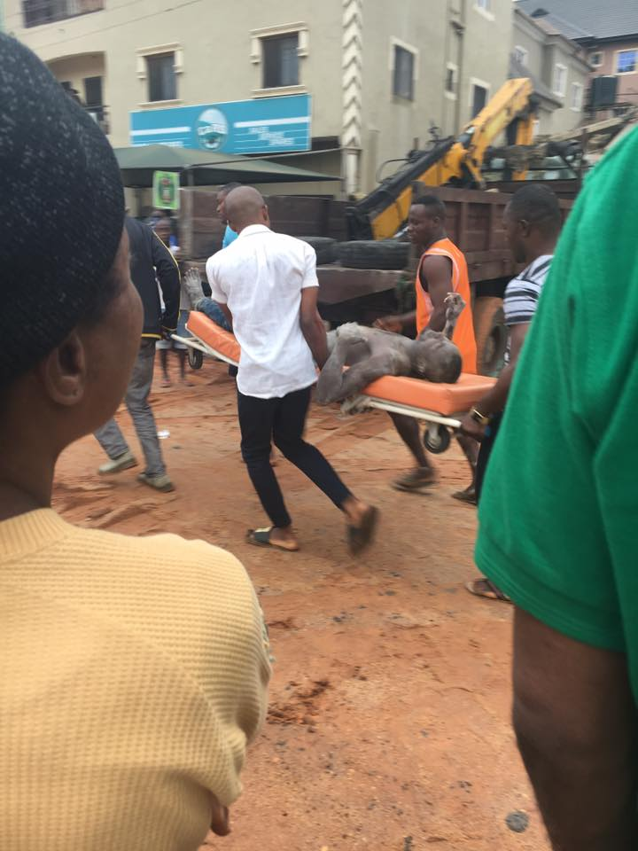 Building collapse in owerri - pics