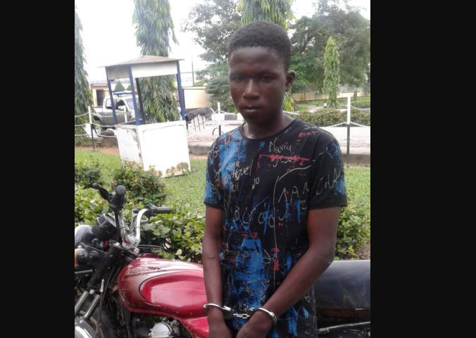 Police Arrest Wanted 20-Year-Old Armed Robber, Lateef, AKA 'Ajona' (Photos)