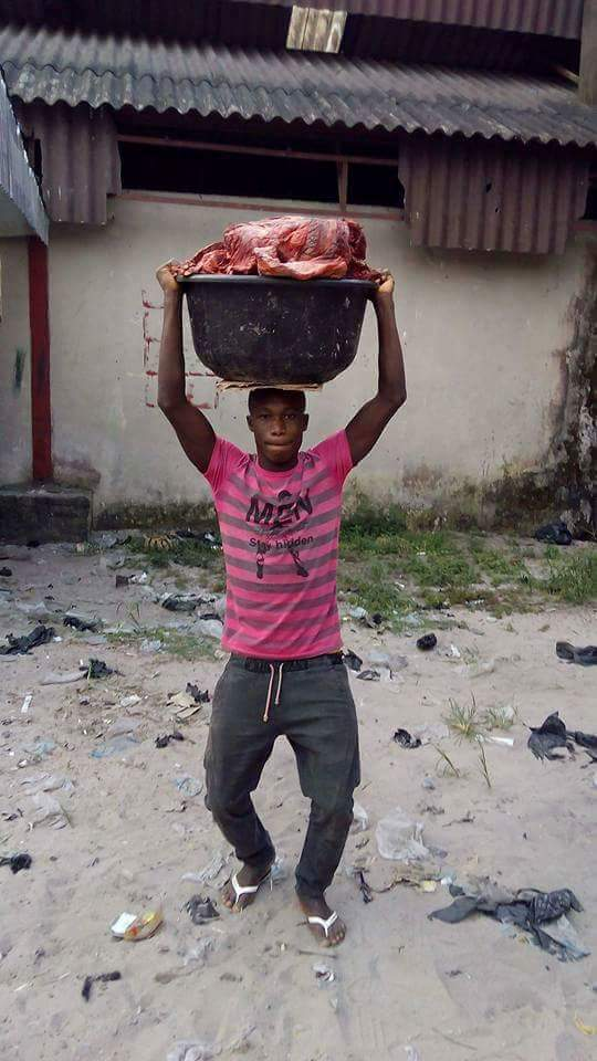Young Landlord Who Is A UNIBEN Graduate And A Meat Seller (Photos)