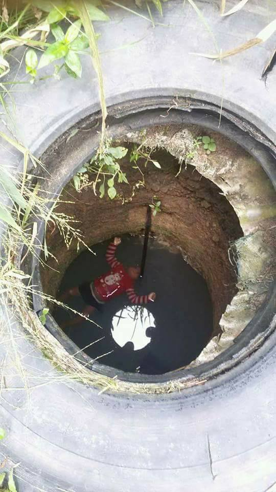 Image result for boy drowns inside well in Nigeria