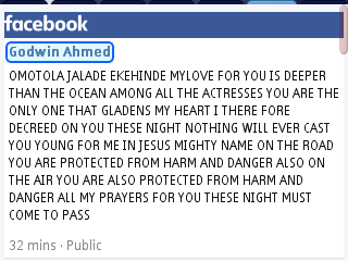 Omotala All My Prayers For You This Night Must Come To Pass-godwin Ahmed