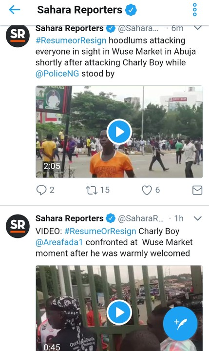 5818263 cymera20170815140734 jpeg7fe08bbee07ba5cfd435da3ebfa7a370 - Resume Or Resign: Buhari Supporters Attack Charly Boy At Wuse Market, Destroy Cars (Video/Photos)