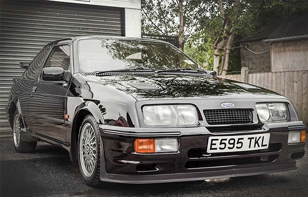 Would You Purchase This 1987 Ford Sierra Cosworth RS500 For N55million?
