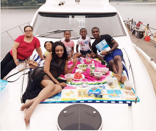Odion Ighalo Goes Boat Cruising With His Family In China