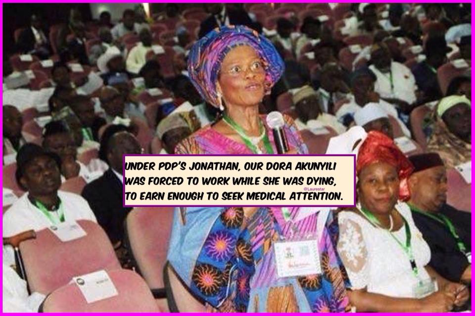 Under Jonathan, Dora Akunyili Was Forced To Work While Dying ...