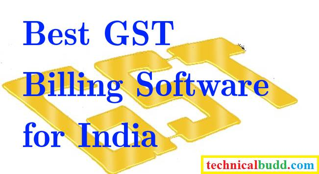 Best GST Billing Software For India Goods Service Tax Accounting - Invoice software in india