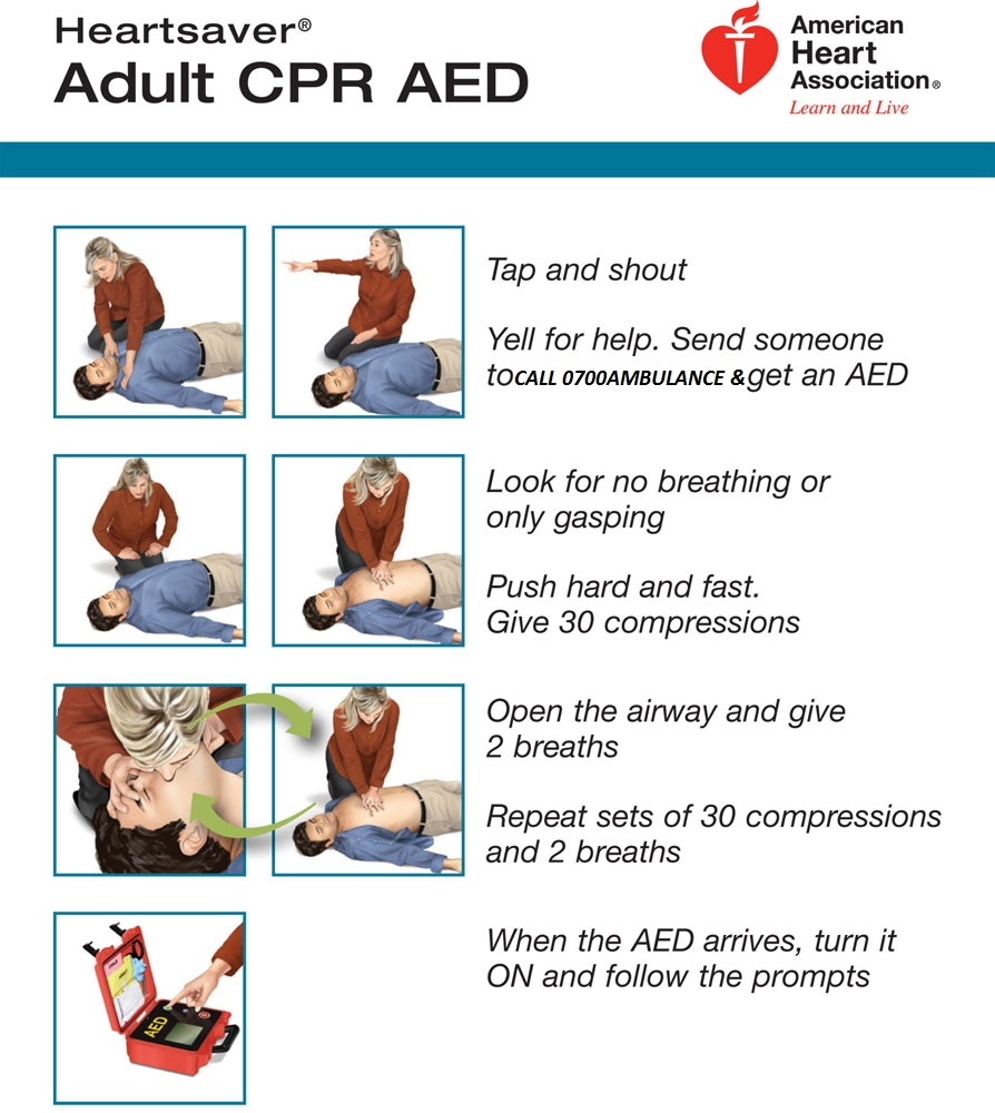 Adult cpr first aid — photo 2