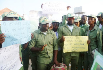 Corpers To Embark On Two Weeks Warning Strike