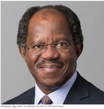 Donald Trump Sacks Nigeria's Ogunlesi As Adviser