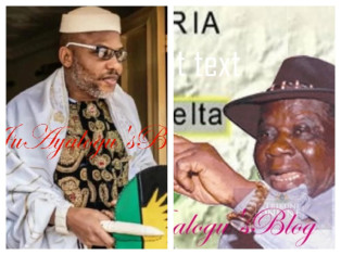 'Watch your utterances against Edwin Clark' - Ijaw youths warn Nnamdi Kanu