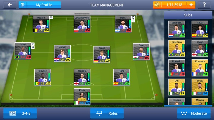Real football 2018 Android Offline 500mb best Graphics download